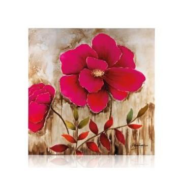 """Quadro su tela """"red flower"""""""